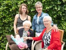 Aaltje uit Nieuwleusen viert eeuwfeest met vijf generaties
