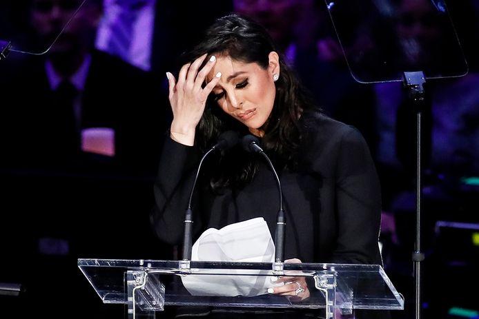Vanessa Bryant au Staples Center de Los Angeles, le 24 février 2020.