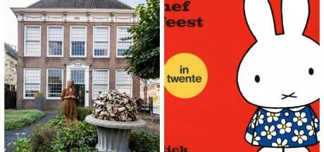Nijntje wordt weer Twents dankzij Herman Finkers en het oudste huis van Enschede opent de deuren