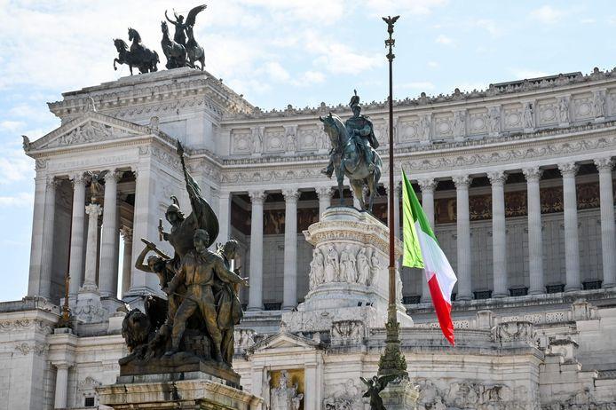 Het Altare della Patria - Vittorio Emanuele II monument in Rome.