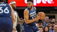VIDEO. Curry tovert in knotsgek slot, maar gaat met nog halve seconde op de klok met Warriors de boot in tegen Minnesota