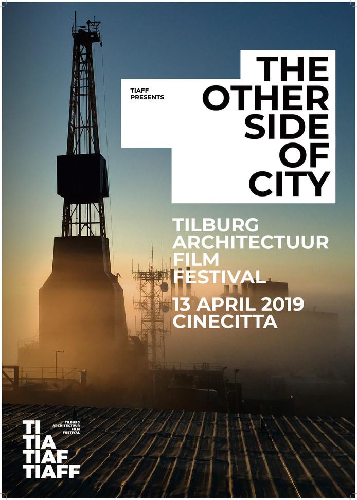De poster van de derde editie van het Tilburg Architectuur en Film Festival