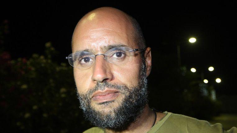 Seif al-Islam Kaddafi. Beeld afp