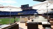 Even verpozen in de 'Camp Nou Lounge'?