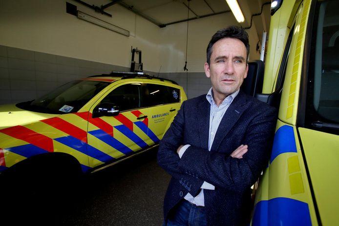 Directeur Hans Janssen van de ambulancedienst Zuid-Holland Zuid schreef zijn frustratie van zich af in een column.