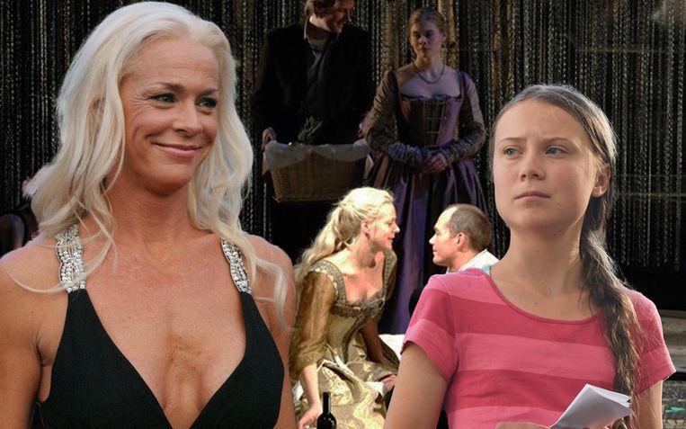Malena Ernman, mama van Greta Thunberg, raakte bekend als de blonde 'babe' van de opera.