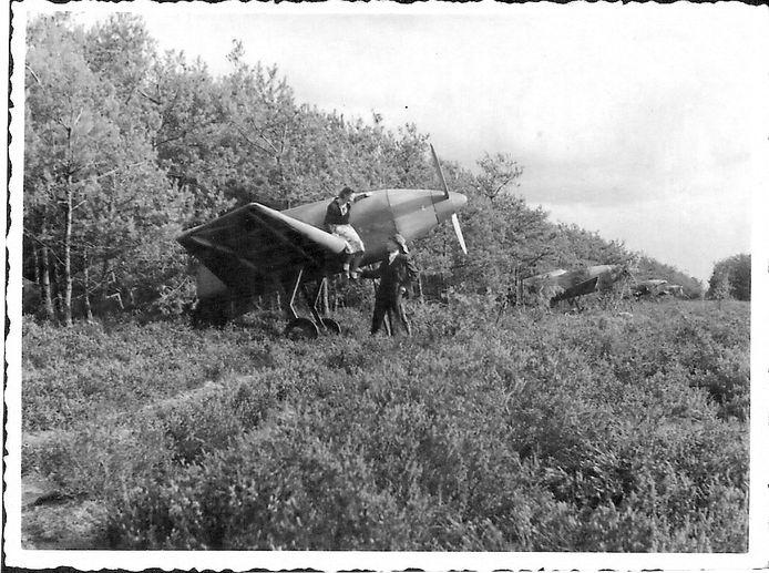 Schijnvliegveld De Kiek was in de Tweede Wereldoorlog het doelwit van bombardementen.