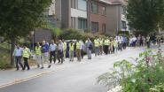 Verschillende geloofsgemeenschappen houden vredeswandeling door centrum van Dilbeek