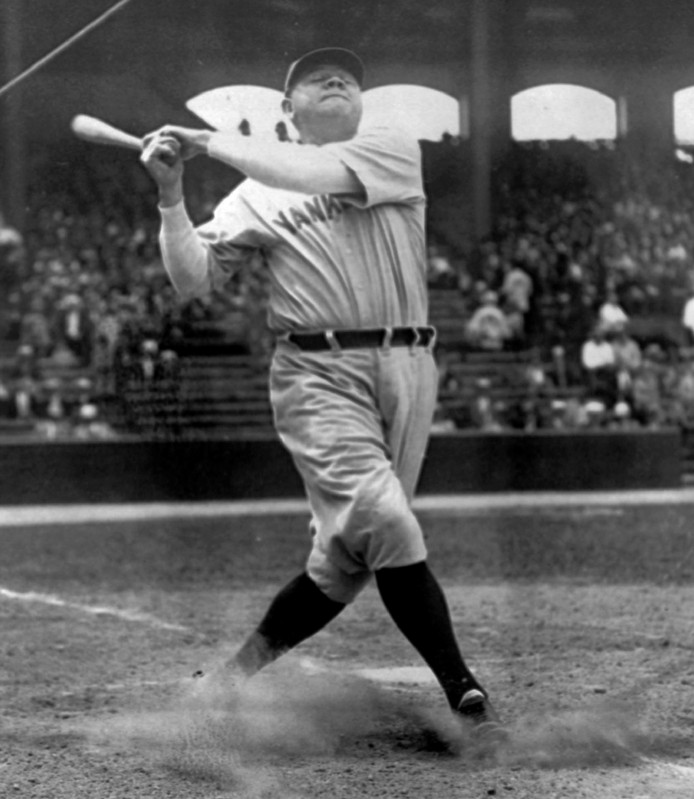 Babe Ruth in 1929.