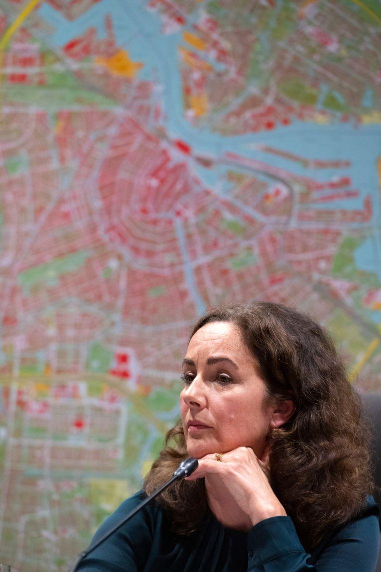 De brief is onder meer ondertekend door de Amsterdamse burgemeester Femke Halsema. Beeld ANP