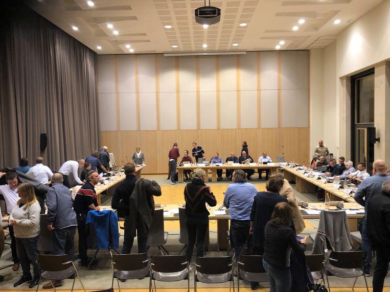 Illustratiebeeld: De gemeenteraadsleden zullen maandagavond niet in de raadzaal zitten, maar thuis achter hun computer