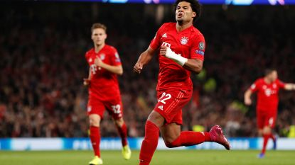 2-7! Bayern München zegeviert in spektakelmatch tegen Tottenham, Gnabry scoort vier keer