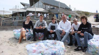Nee, dit zijn geen PMD-zakken, wel zitzakken vol plastic afval