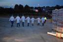 Bij SanoRice vond maandagavond een grootschalige rampoefening plaats.