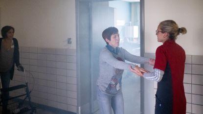 Verlaten ziekenhuis decor voor rampoefening