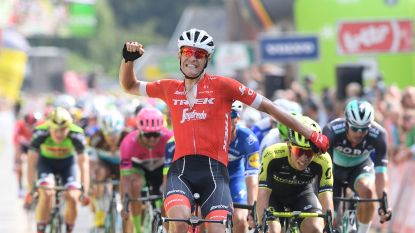 Stuyven draait sprinters een loer met late uitval in BinckBank Tour, Mohoric blijft leider