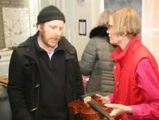 Gemaakt in Tilburg: Muzikant Max bezit een echte Jan van Gorp viool