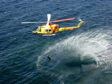 Grote reddingsmacht in actie bij oefenen van evacuatie ferry