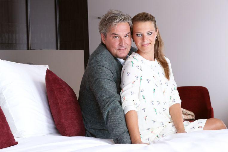 Hans Otten en zijn vrouw Colette.