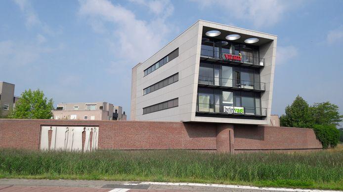 Het kantoor van Brus bij de rotonde aan de Steeg in Schijndel.