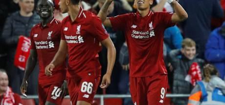 Liverpool houdt punten thuis na vermakelijke wedstrijd