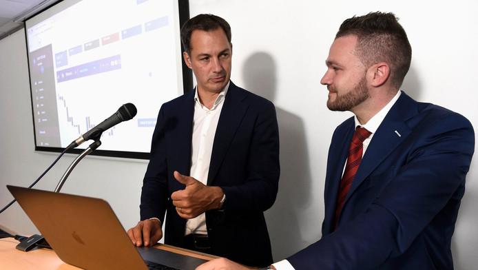 """Lancement de """"Belgian Valley"""", la première plateforme d'échange de crypto-actifs basée à Bruxelles en présence du ministre Alexander De Croo."""