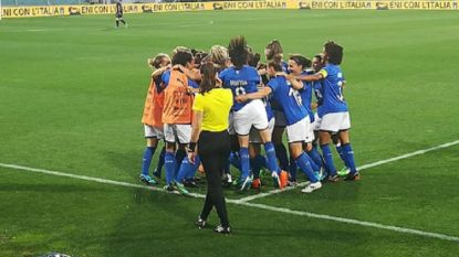 Italië steekt groepswinst op zak, Red Flames kunnen alleen nog via barrages naar WK