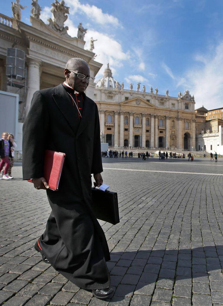 Kardinaal Robert Sarah. Beeld AP