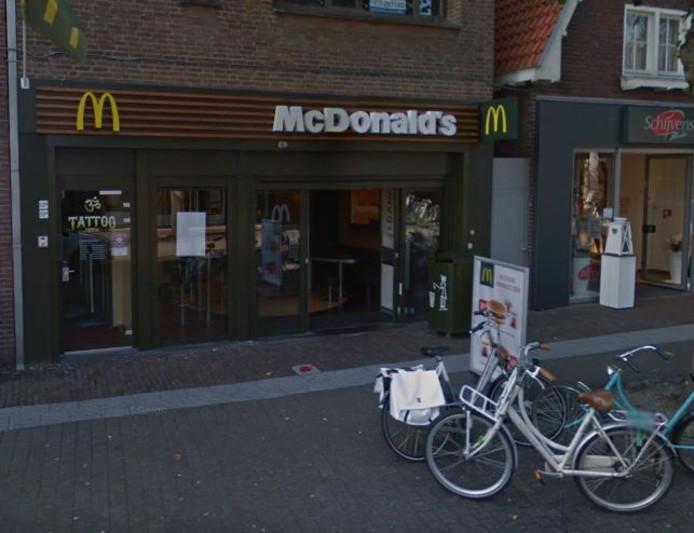 De McDonald's in Uden.
