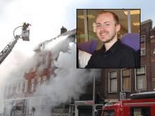 Verdachte van fatale woningbrand aan Hilledijk blijft voorlopig achter slot en grendel