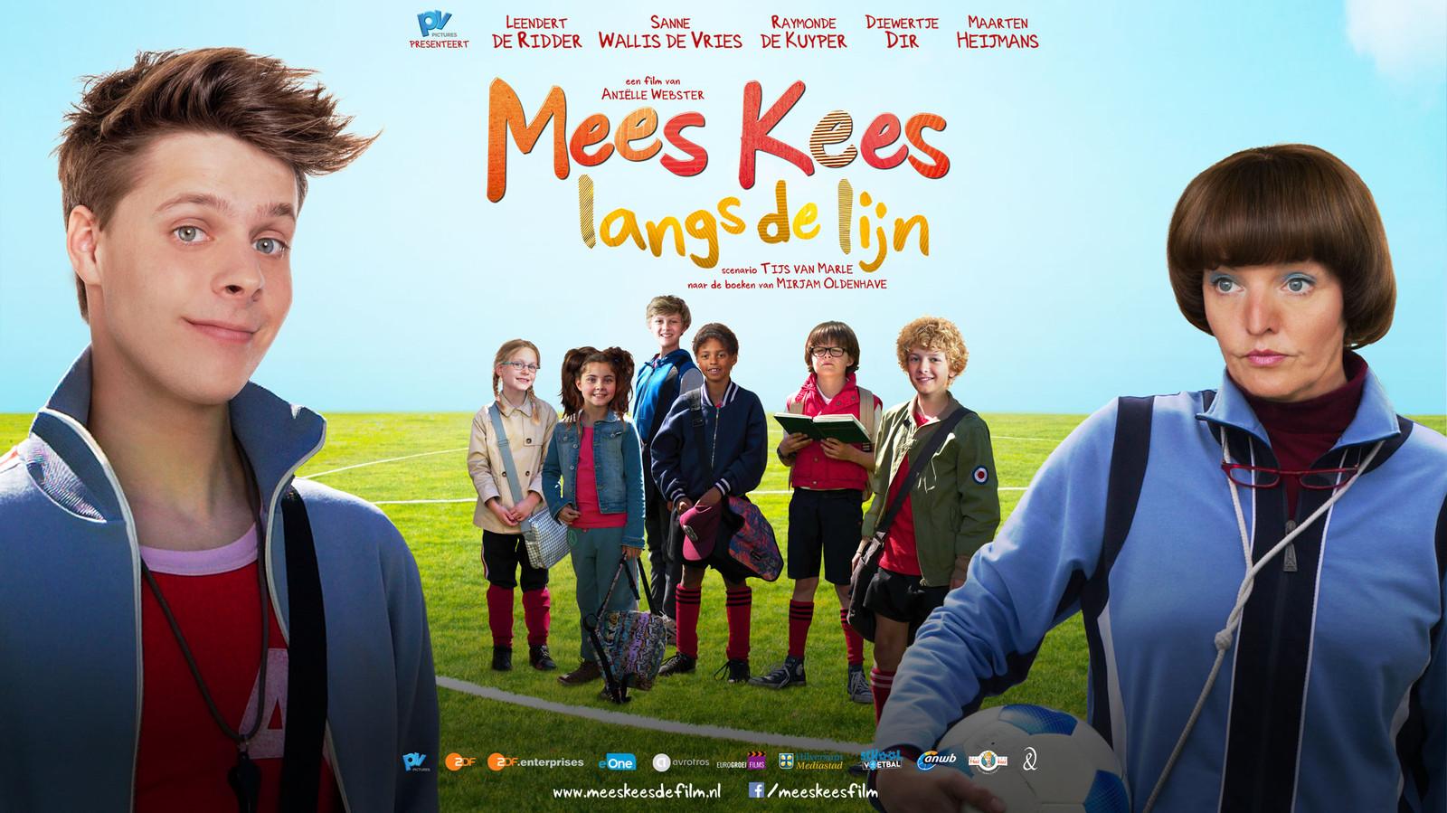 De poster van de vorige Mees Kees film met Leendert de Ridder in de hoofdrol.