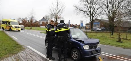 Automobilist gewond bij aanrijding in Beugen