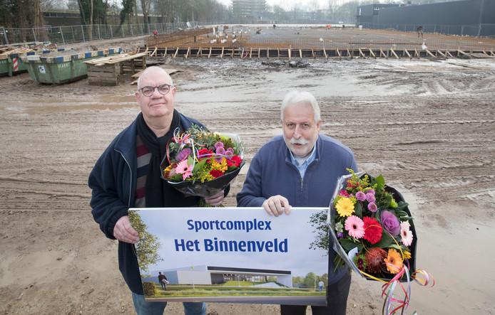 De winnaars van de naamgeefwedstrijd voor het complex aan de Marijkeweg.