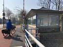 Teus is weg uit het brugwachtershuisje op de Prins Hendrikbrug in Dordrecht.