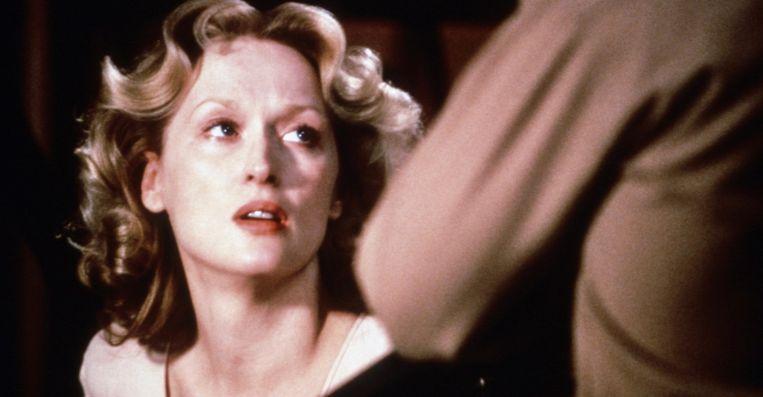 Meryl Streep in Sophie's Choice. Beeld