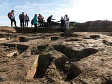 Twintig eeuwen oud sieraad in de bodem van de Hamstraat