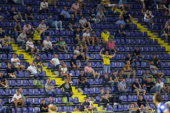 In het Rat Verlegh Stadion zaten afgelopen maandag 3843 bezoekers. Tot 2003 heette de Bredase voetbaltempel nog Fuji Film Stadion.