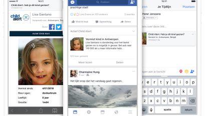 Facebook helpt vanaf nu vermiste kinderen opsporen via Child Alert