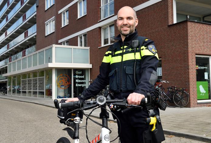 Dennis Hogeveen: 'Ik zal niet veel meer op de fiets zitten'.