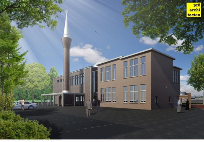 De Ayasofya-moskee in Hengelo wordt uitgebreid. Het oude schoolgebouw aan de Willem de Clercqstraat krijgt een oriëntaalse uitstraling, compleet met koepel en een 25 meter hoge minaret.