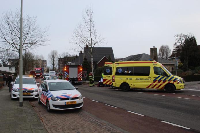 Fietsster aangereden door auto in Boxtel