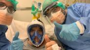 Italiaans ziekenhuis gebruikt snorkelmasker van Decathlon om coronapatiënt te beademen