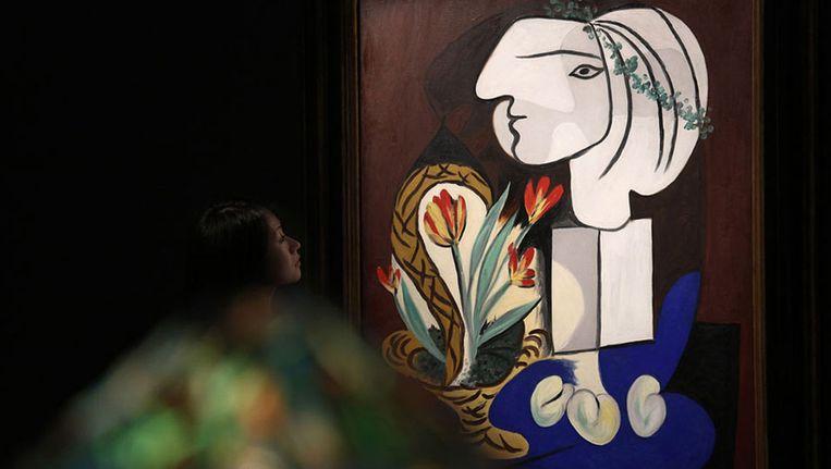 'Nature morte aux tulipes' van Picasso Beeld