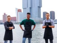 Rotterdammers bouwen feestbedrijf noodgedwongen om tot broodjesbezorgservice