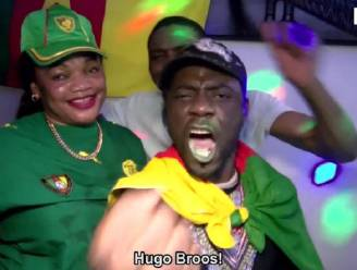"Delirium bij Kameroeners in Brussel: ""Hugo Broos is God!"""