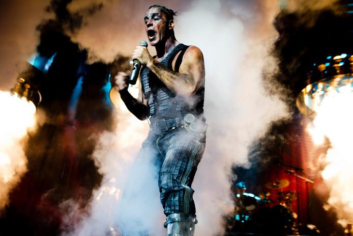 Rammstein-zanger Till Lindemann.