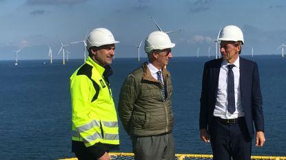 """Koning Filip bezoekt """"stopcontact op Noordzee"""""""