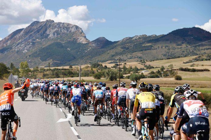 Een peloton van dik 170 renners trekt dezer dagen door Frankrijk. Met daarbij zeven Nederlanders, maar geen enkele Brabander.