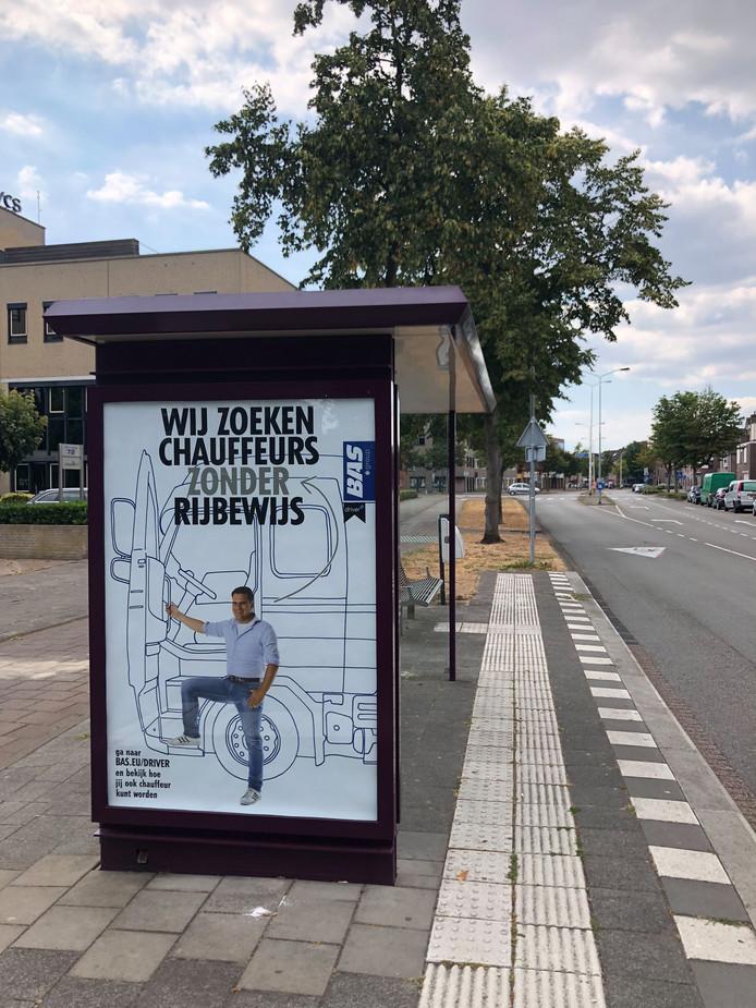 De campagne van transportonderneming Bas: Chauffeurs zonder rijbewijs gezocht