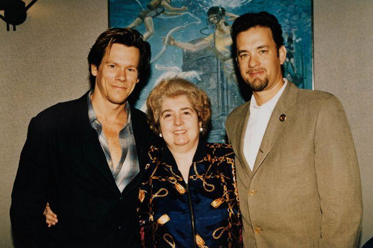 Kevin Bacon en Tom Hanks.